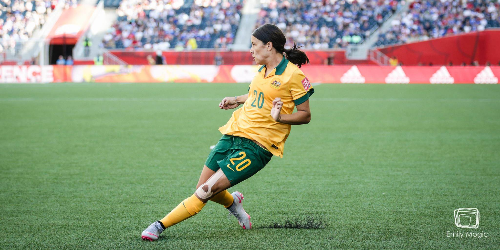 "Sam Kerr: More than just ""some girl"""