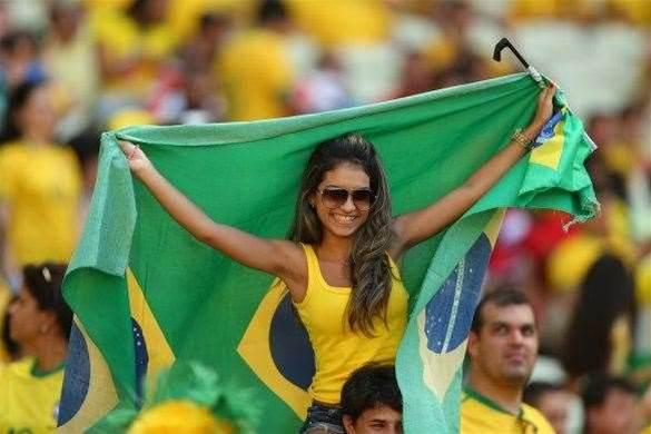 Brazil Sinks Mexico 2 - 0