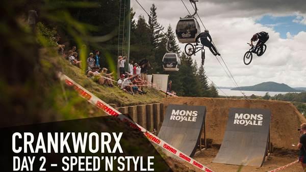 Crankworx Rotorua - Mon Royale Speed and Style