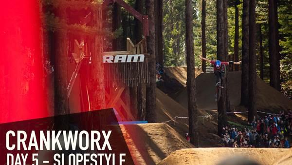 Crankworx Rotorua - Red Bull Slopestyle