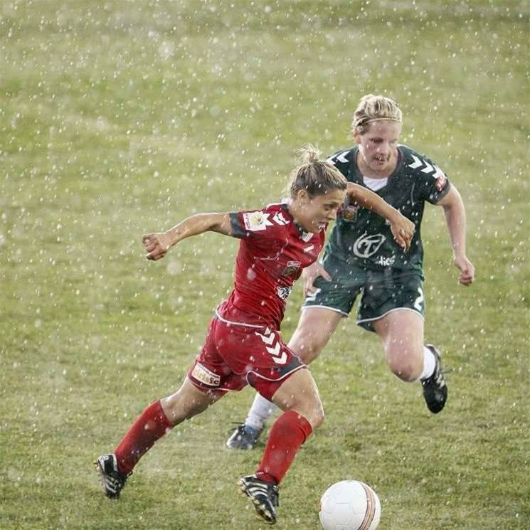 Canberra-Reds Clash Abandoned
