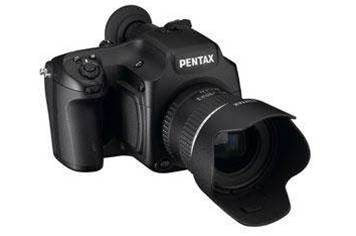 Pentax prepping 30 megapixel 645 DLSR for 2010