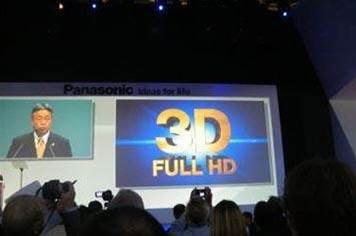 Panasonic joins Sony in 3D TV for 2010 announcement