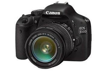 Canon unveils HD-shooting EOS 550D