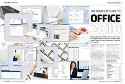 Microsoft Office 2010 launches in Oz today