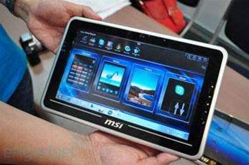 MSI shows off the WindPad