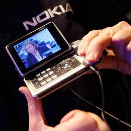 Nokia sees mobile TV networks running by mid-2006