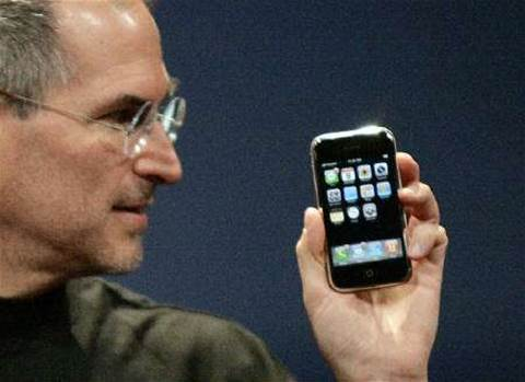 "Steve Jobs tops list of online music ""Powergeeks"""