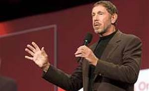 Larry Ellison knocked off top pay slot
