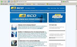 SCO hit by hacker protest