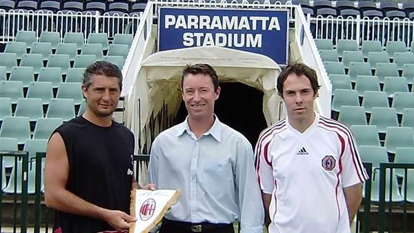 Parramatta to host AC Milan Academy