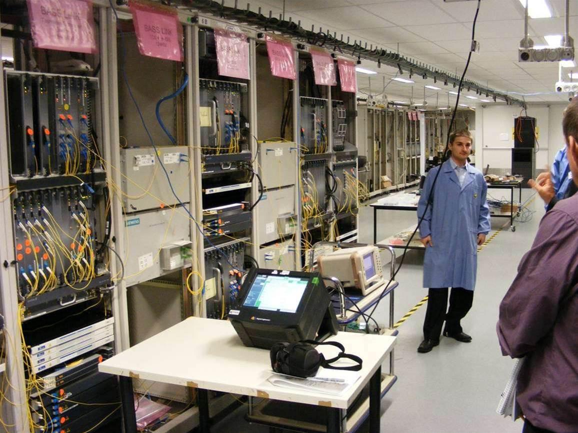Photos: Inside Basslink's undersea fibre converter station