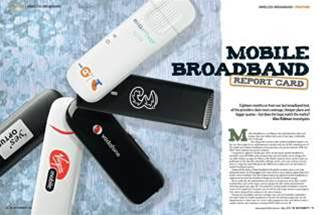 New magazine issue! Which is the best mobile broadband in Australia?