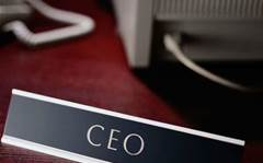Tough at the top for CEOs