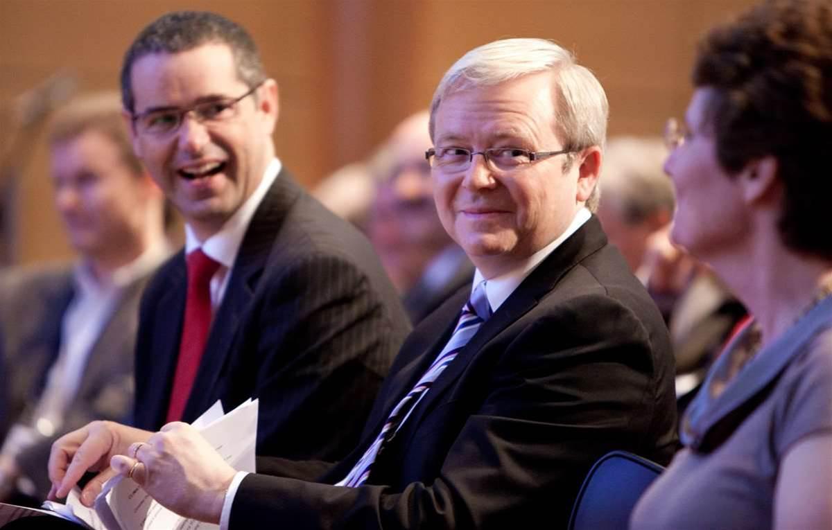 Rudd calls halt to broadband 'rot'