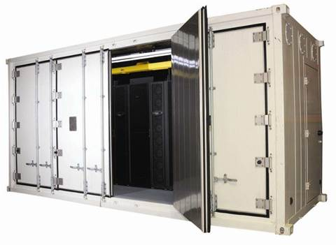 Photos: Inside Datapod's container data centres