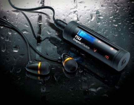 World's first waterproof Touch Pad MP3 Player