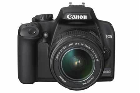 Canon EOS 1000D to lure compact users