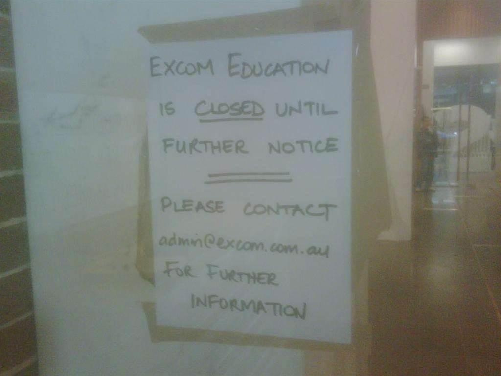 Facebook lifeline for Excom students