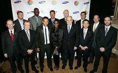 Samsung sees stars at charity event
