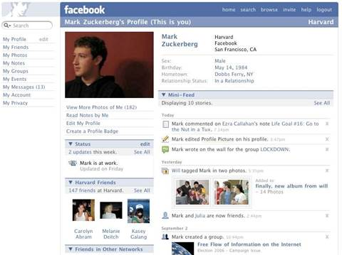 Facebook redesign exposed personal information