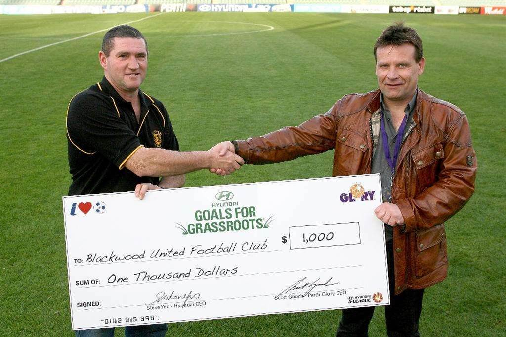 Goals for Grass Roots -  Round 4 winners