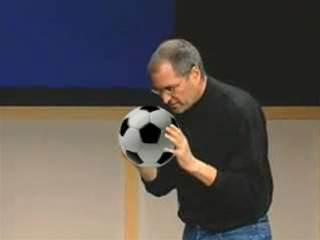 NewsMash: Steve Jobs to redesign football gloves