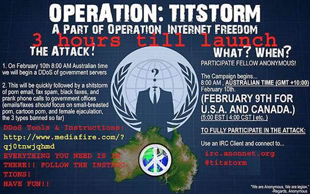 Operation Titstorm hits the streets