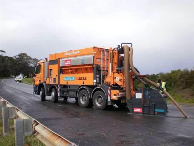 Photos: Digging Tasmania's National Broadband Network trench