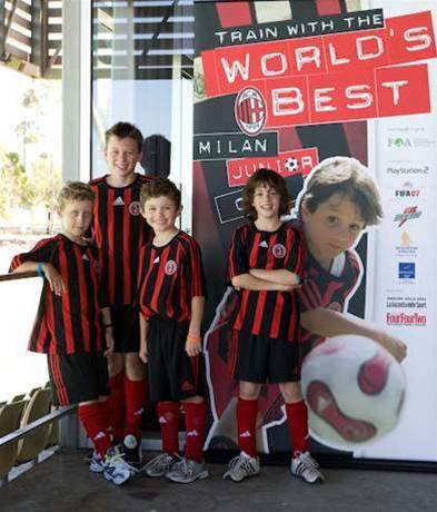 Milan Junior Camp Attracts Huge Turnout