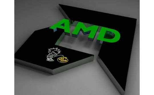 AMD posts first profit in three years