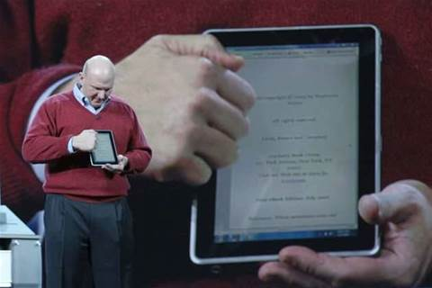 Ballmer confirms Microsoft working on iPad rival