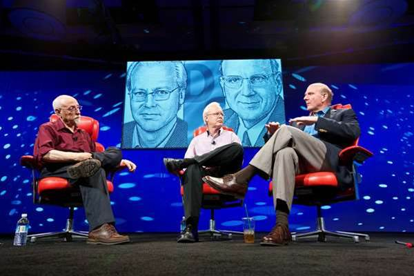 Microsoft bosses discuss cloud, Apple, mobile and China