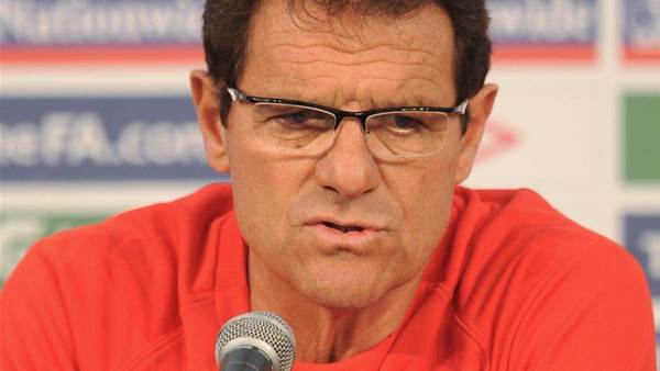 England In Safe Hands: Capello