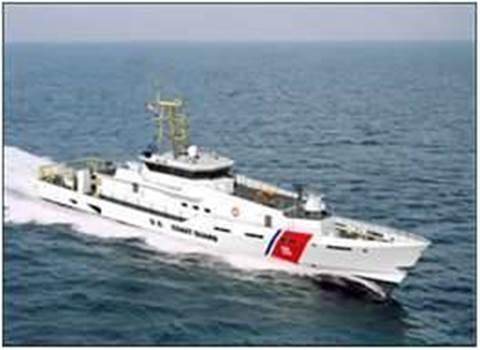 Australian code for US Coast Guard cutters