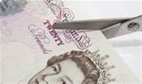 IT budgets fall by five per cent