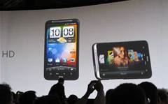 HTC unveils flagship Desire HD exclusively with VHA
