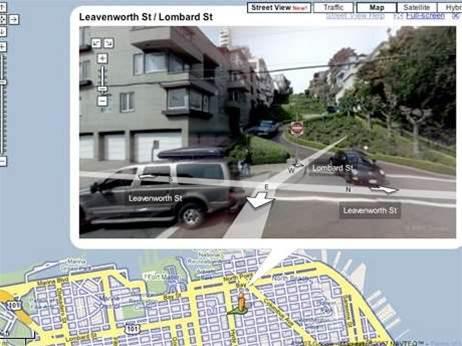 Google Maps drives geospatial BI