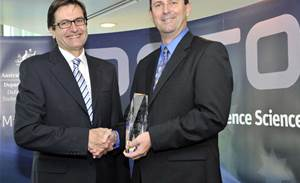 Long-range radar engineer wins Minister's Award