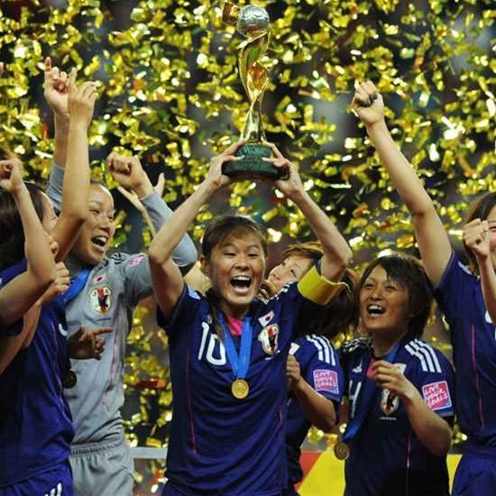 Japan Lift World Cup Title
