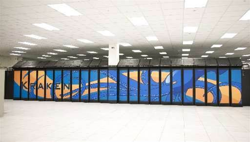 Kraken is the most powerful academic supercomputer in the world