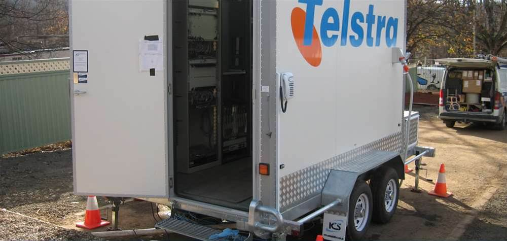 Telstra builds a $200,000 mobile exchange