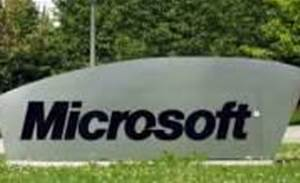 Microsoft hit by first ever sales drop