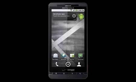 Motorola unveils Droid X smartphone