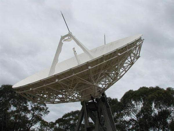 Photos: Driving satellites at Optus' Earth station
