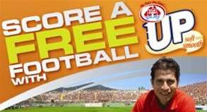 Score a Free Football with Tip Top