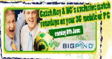 Telstra backs Roy & HG's soccer chat