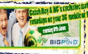 Telstra backs Roy & HG's soccer chat
