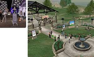 Corporate culture booms in Second Life