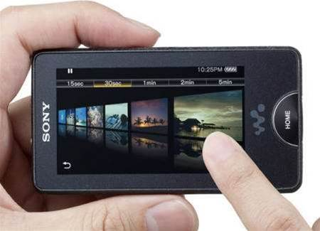 Sony debuts OLED screen in portable MP3 player with noise cancelling earbuds